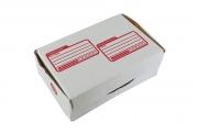 กล่องไปรษณีย์ไดคัทสีขาวเบอร์ 0