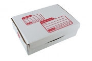 กล่องไปรษณีย์ไดคัทสีขาวเบอร์ ก