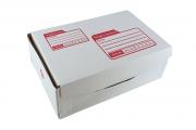 กล่องไปรษณีย์ไดคัทสีขาวเบอร์ ค